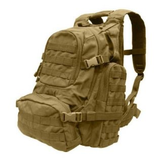 Batoh MOLLE URBAN GO PACK COYOTE BROWN