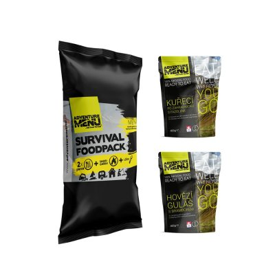 ADVENTURE MENU Survival Food Pack – MENU I