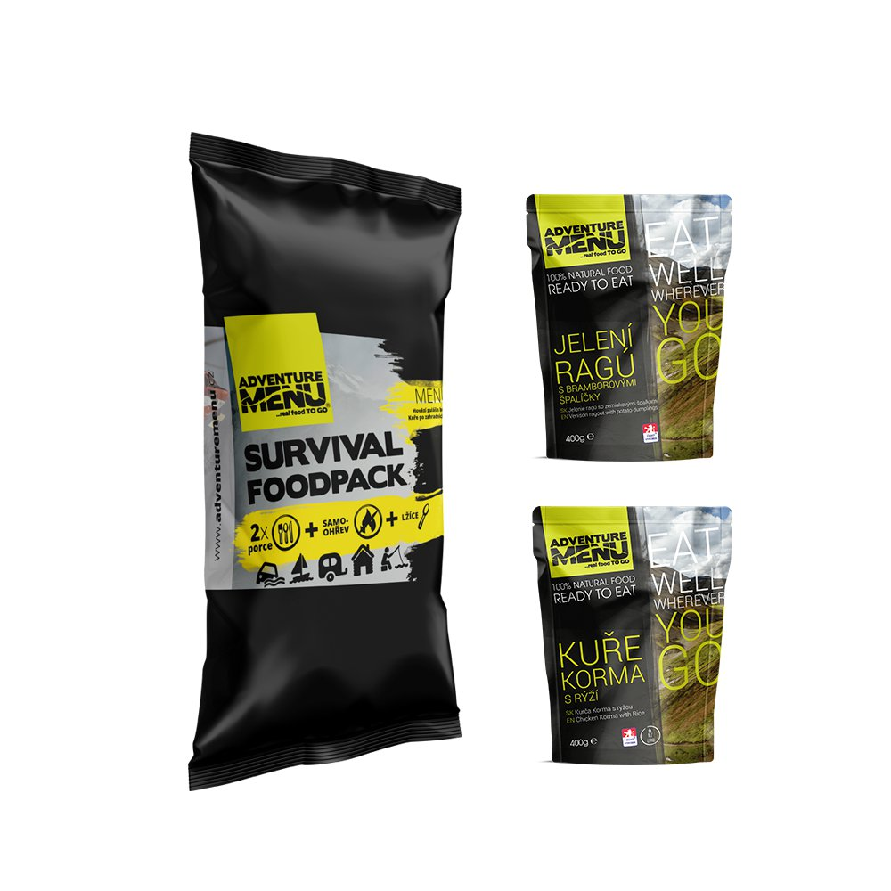 ADVENTURE MENU Survival Food Pack – MENU IV.