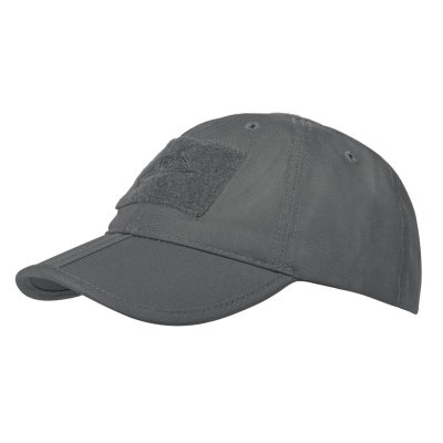 Čepice HELIKON BASEBALL FOLDING rip/stop SHADOW GREY