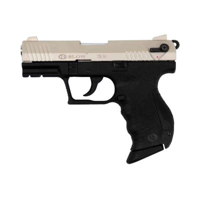 Plynová pistole BLOW TR34 WALTHER P22 9mm P.A.Knall satin