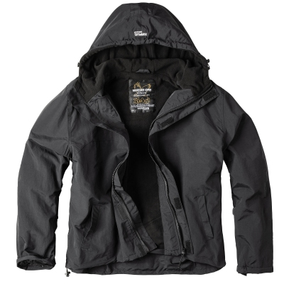Bunda SURPLUS WINDBREAKER ZIPPER ČERNÁ