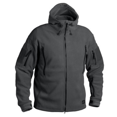 Bunda HELIKON PATRIOT Heavy fleece SHADOW GREY