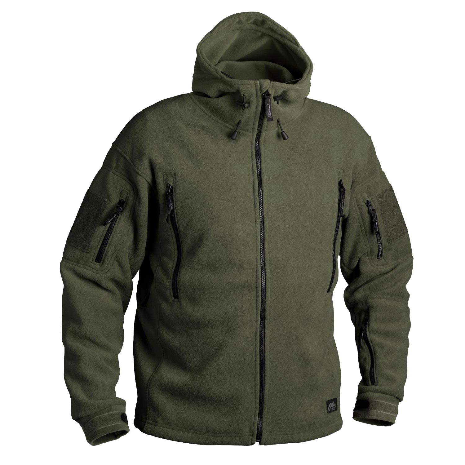 Bunda HELIKON PATRIOT Heavy fleece ZELENÁ
